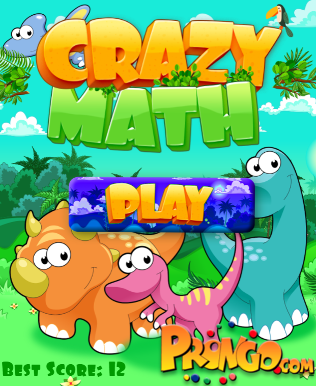 Image Crazy Math Game
