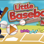 Little Math Baseball Game